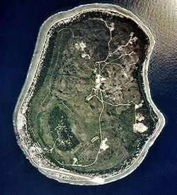 Nauru from space